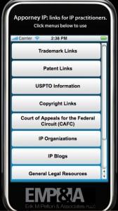 iPhone Apptorney App
