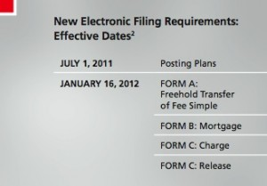 e-Filing dates