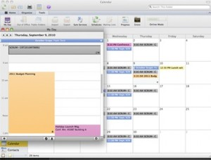 Outlook on the Mac